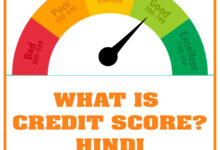 What is Credit Score - Hindi