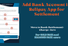 Add Bank Account for settlement