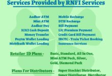 Services Provided by RNFI Services