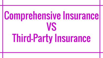 comprehensive insurance vs third party insurance