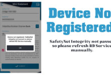 safetynet integrity not passed