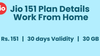 Jio 151 Plan Details work from home