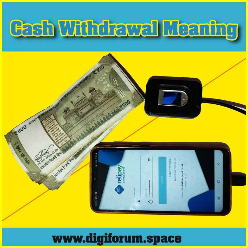 Cash Withdrawal Meaning
