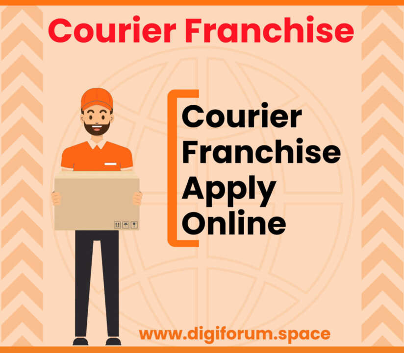 Courier Franchise Apply Online