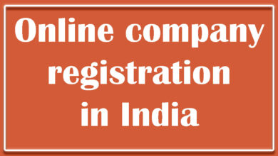 Online company registration in India