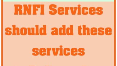 RNFI Should add these new services